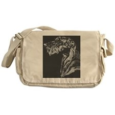 Scottish Deerhound Pillow Messenger Bag