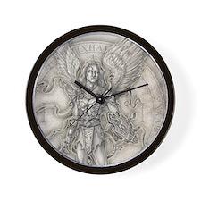 MichaelAllover Wall Clock