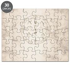 Uriel allover back Puzzle