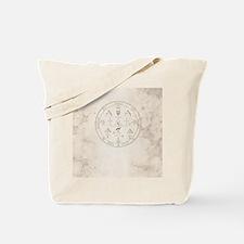 Uriel allover back Tote Bag
