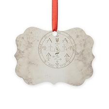 Uriel allover back Ornament