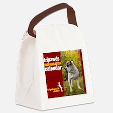 Tripawds Three Legged Dog Calenda Canvas Lunch Bag