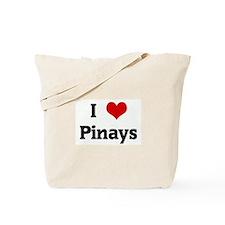 I Love Pinays Tote Bag