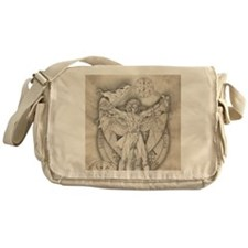 Uriel allover Messenger Bag