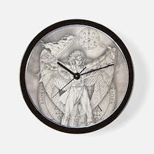 Uriel allover Wall Clock