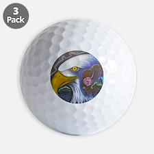 Watch Over Us Golf Ball