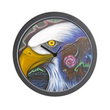Watch Over Us Wall Clock