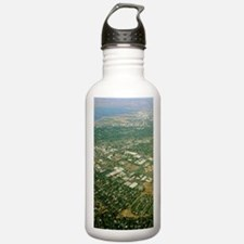 Aerial view of Silicon Water Bottle