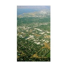 Aerial view of Silicon Valley Decal