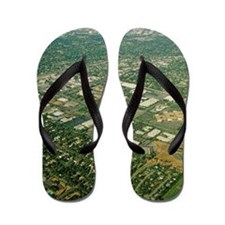 Aerial view of Silicon Valley Flip Flops