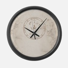 Michael allover back Large Wall Clock