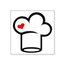 """Chef cook Square Sticker 3"""" x 3"""""""