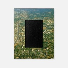 Aerial view of Silicon valley Picture Frame