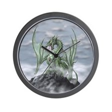 MistyAllOverBACK Wall Clock