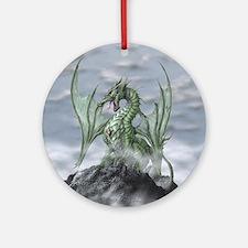 MistyAllOverBACK Round Ornament