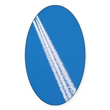 Aircraft contrail Decal
