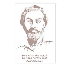 walt-whitman-DKT Postcards (Package of 8)
