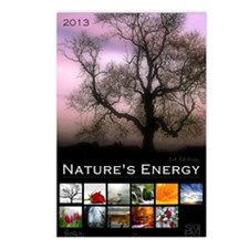 2013 Natures Energy Calen Postcards (Package of 8)