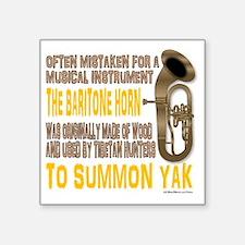 "Summon Yak Square Sticker 3"" x 3"""