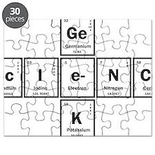 Geek science Puzzle