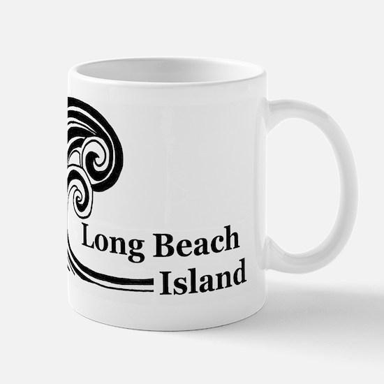 Waves over Long Beach Island Mug