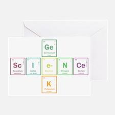 Geek science Greeting Card
