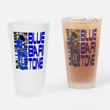 Blue Baritone Drinking Glass