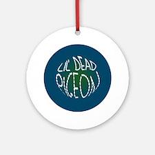 KiBum Lil Dead Pigeon Button Round Ornament