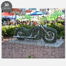 Harley-Davidson Cafe Las Vegas Shrubbery Puzzle