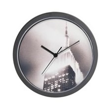 Empire State Building Wall Clock
