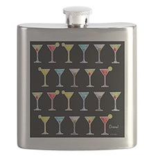 Black Martinis Flask