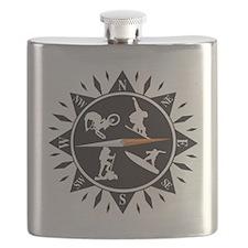 Adventure Compass Flask