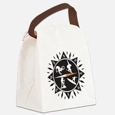 Adventure Compass Canvas Lunch Bag