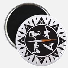 Adventure Compass Magnet