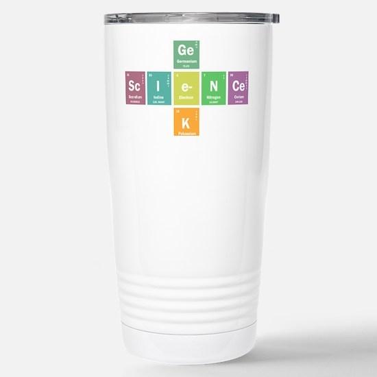 Geek science Stainless Steel Travel Mug