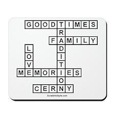 CLERNY II SCRABBLE-STYLE Mousepad