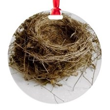 Empty bird's nest Ornament