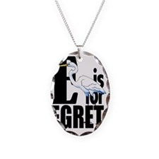 E is for Egret Necklace