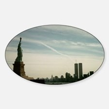 Statue of liberty WTC Decal