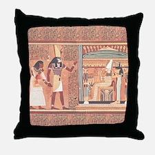 Ani Papyrus Egyptian Throw Pillow
