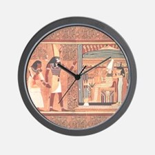 Ani Papyrus Egyptian Wall Clock