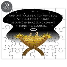 Christmas Manger Puzzle