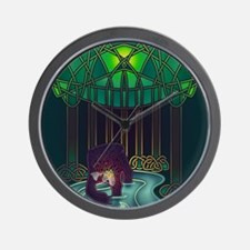 Fae Bear of WIsdom Wall Clock