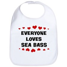 Loves: Sea Bass Bib