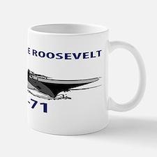 USS THEODORE ROOSEVELT CVN-71 Mug