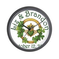 Liz  Brandon Wall Clock