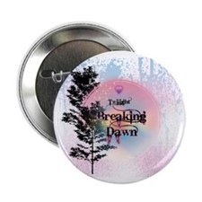 "Breaking Dawn Rainbow Light 2.25"" Button"