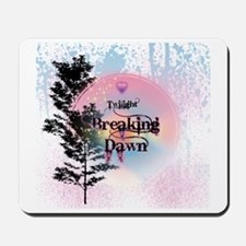 Breaking Dawn Rainbow Light Mousepad