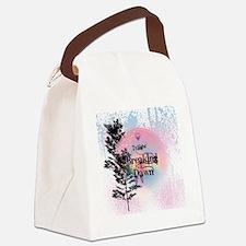 Breaking Dawn Rainbow Light Canvas Lunch Bag