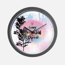 Breaking Dawn Rainbow Light Wall Clock